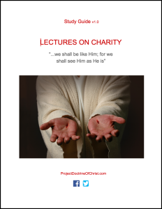 Cover - Lectures on Charity Study Guide