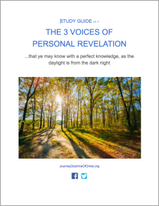 The 3 Voices of Personal Revelation Study Guide